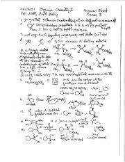 Orgo Test 3 key.pdf