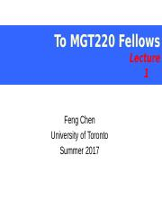 MGT220 Introduction