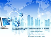 FIVE STORIES SHOPPING MALL WITH IP BASED