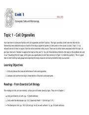Topic 1.1 - Eukaryotic Cells - Online Notes – 2018S1-....pdf