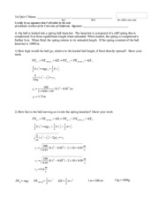 Principles Physics, Answers Quiz 5