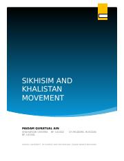 sikhism and khalistan movement.docx