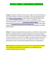 phi 103 informal logic week 1 View test prep - phi 103 week 1 quiz from phi 103 in phi103 at ashford university phi 103 informal logic quiz week 1 1 question : student answer: when people are engaged in analytical thinking,.