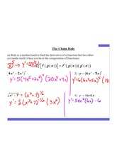 Chain Rule - Notes AK