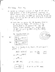 exam6 solutions