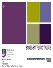 Chapter 4 - UPPER FLOOR SLAB - MEASUREMENT OF CONSTRUCTION