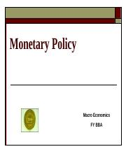 Monetary Policy.ppt