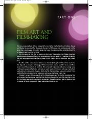 Film Art and Filmmaking
