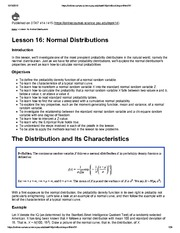 STAT414_Lesson16_Normal Distributions