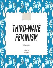 Third-Wave Feminism PowerPoint