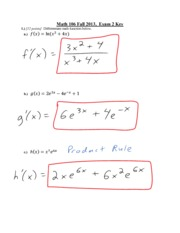 exam2 solutions