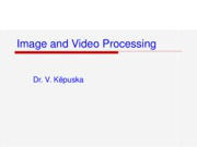 Image & Video Processing