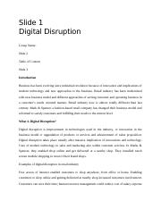 Digital Disruption.docx