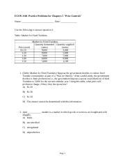 Practice Problems for Chapter 5_Price Controls.doc