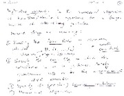 Molecular Dynamics notes