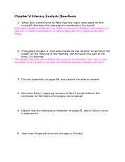 Chapter V Literary Analysis Questions - Cassandra Lama.docx