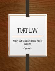 Chapter+9+-+Tort+Law.pptx