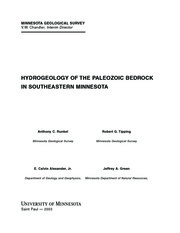 Hydrology of Southestern Minnesota
