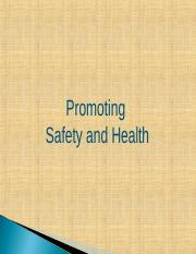 HRM 370-2017-1-Spring-Chapter 11-Promoting Safety and Health.ppt