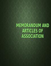Topic 4 Memorandum & Article of Association.ppt