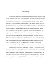 Anti Hero Essay