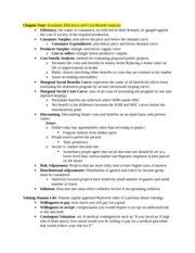 Health Care Econ Study Guide Chapter 4