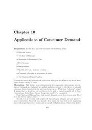 Lecture_Note_Set_10_Consumer_Demand_Applications