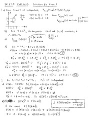 IE 575 Solutions to Exam I