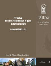CVG2532-Cours 8 - Ecosystemes.pdf
