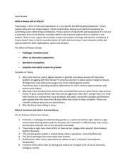 WSTA03 Final exam review important 2013