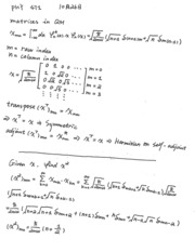 PHY 471 Lecture Notes (10/28/2015)