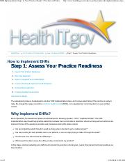 Step 1 - EHR Implementation - Is Your Practice Ready_ _ Providers & Professionals _ HealthIT.pdf