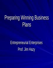 Venture Business Planning.ppt