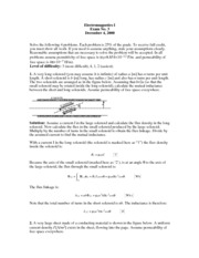 Exam 9 with Solutions