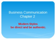 Business Communication 3