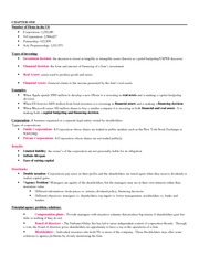 busi 530- chapter 1 - 4 notes