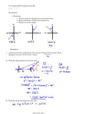 8.5 Compound Trig Applications (II)