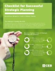 6 steps to developing a strategic plan that wins