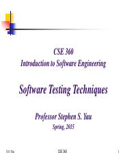Lecture 18 CSE 360 Spring 2015 -- Software Testing Techniques(2).pdf