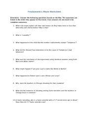 Freakonomics movie worksheet answers