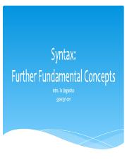 Syntax Further Concepts.pdf