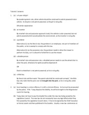 Chapter 1 Hong Kong legal system and Basic Law Tutorial  answers