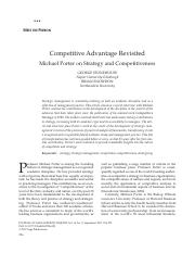 Competitive Advantage Revisited Michael Porter on Strategy and Competitiveness.pdf