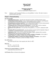 Final Exam Study Guide Chapters 6 19