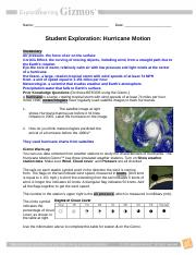Hurricane Motion Gizmo.doc