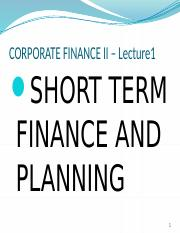 Short term finance and planning.pptx