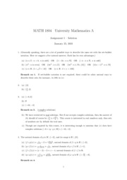 Assignment1(1804)(Solution)