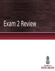 Exam 2 in-class Review (1)