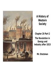 Stutzman_AP_Euro_Industrial_Revolution_After_1815.ppt