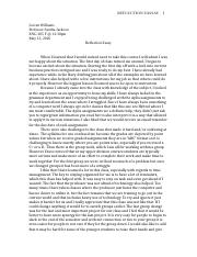 ENG 205 Reflection Letter